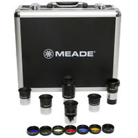 "Meade Series 4000 1.25"" Plossl Eyepiece(5) and Filter(6) Set"