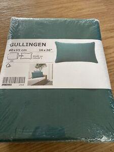 Ikea Gullingen Cushion Covers 2 Set Green 40 x 65 cm