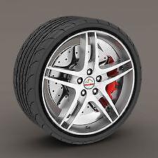 "BLACK Alloy Wheel Protector Rim Trim Strips 13"" to 22"" RIMBLADES CITROEN"
