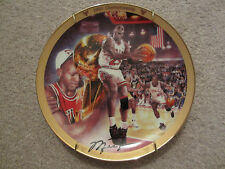 ☀️ NEW UPPER DECK 23 MICHAEL JORDAN COLLECTION 1991 Bulls Championship Plate