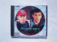 Pet Shop Boys ‎– Rare UK Limited Edition Interview Picture CD *NICE CONDITION*