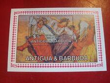 ANTIGUA & BARBUDA - DEGAS - MINISHEET - UNMOUNTED MINT MINIATURE SHEET
