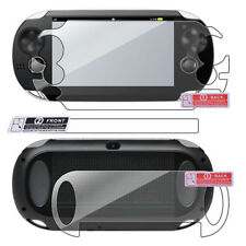 HD Screen Protector Game Player Screen Front & Back Film for Sony PS Vita PSV
