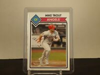 2021 2020 TOPPS 582 MONTGOMERY CLUB Card #20 Mike Trout