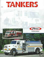 Fire Equipment Brochure - Pierce - Tankers - Palm Springs et al - 2001 (DB213)