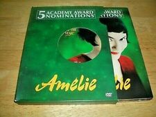 Amelie Dvd 2 Disc Set - 2000 - Digipak Special Edition - French Language - Used