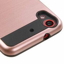 For HTC Desire 626 626S - HARD HYBRID IMPACT ARMOR CASE COVER BRUSHED ROSE GOLD