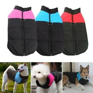 Small Pet Dog Cat Puppy Vest Coat Winter Warm Clothes Waterproof Jacket Apparel