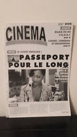 Cinema - N°575 - 16 Au 31 Mai 1996 - Passaporto Per Il Long