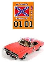 #01 GENERAL LEE DECAL 1/24 scale