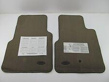 Medium Dark Parchment Brown NOS OEM Ford Floor Mat Set YL3Z-1513086-DAA