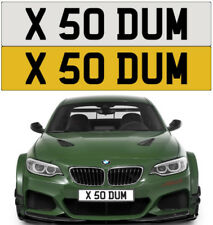 SO DUMB STUPID FUNNY CHEEKY RUDE SILLY RUDE BMW AMG GTR M3 PRIVATE NUMBER PLATE