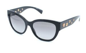 VERSACE Sunglasses  MOD4314 GB1/11 56.18 140 Black Gold With Gray Gradient Lens