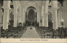 Mombassa Protestant Cathedral c1910 Postcard