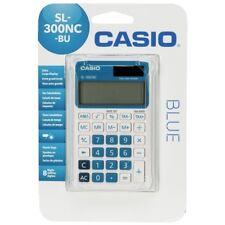Casio Calculadora De Bolsillo Sl-300Nc-Bu 8 Digitos Azul Solar -Pilas