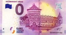 SLOVAQUIE Keržmarok, Kežmarsky Hrad, 2018, Billet 0 € Souvenir
