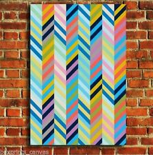 Reproduction Multi-Colour Abstract Art Prints