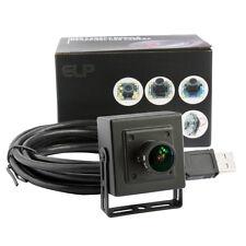 HD 2MP 1080p CMOS 170 Degree Angle Fish Eye Lens Color Video 120fps USB Camera