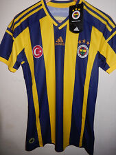 New Fenerbahce home football shirt jersey 2014/15 BNWT Adidas S