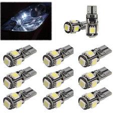 10x T10 LED 5 SMD Standlicht Auto Innenraum Glassockel Lampe Beleuchtung