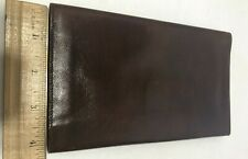 Charing Cross Leather Billfold Brown Calf Leather