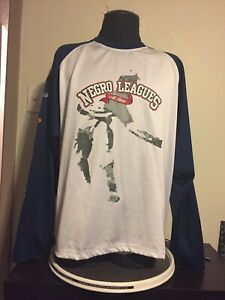 Born again Negro Leagues All Stars Baseball Jersey XXL Men's Long Sleeve