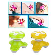 2Pcs Mini Electric Massager Legs ShoulderVibrating Massage Tool Yellow+Green