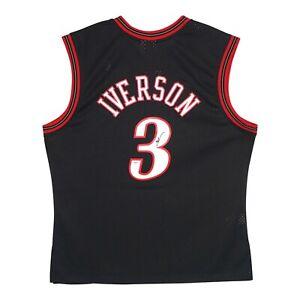 Allen Iverson signed 2000 Philadelphia 76ers Mitchell & Ness Swingman Jersey JSA