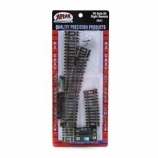 Atlas 541 HO-Scale Code-83 Right-Hand Remote Snap Switch, Nickel Silver & Brown