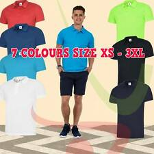 Uneek MENS ULTRA COOL POLOSHIRT Polyester Breathable Wicking Extra Soft Polo TOP