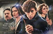 """FANTASTIC BEASTS AND WHERE TO FIND THEM 11""""x17"""" Original Promo Movie Poster AMC"""