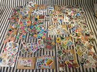Worldwide Stamps Collection, House Clearance Stamps Bundle Vintage Rare Stamps B