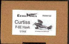 RetroKits Models 1/144 CURTISS P-6E HAWK U.S. Army Air Corps Fighter