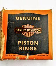 Harley Davidson Flathead Piston Rings NOS