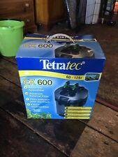 TETRATEC EX 600, 800 1200 PLUS EXTERNAL FILTER AQUARIUM FISH TANK