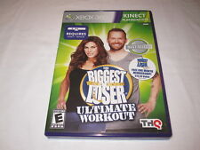 The Biggest Loser: Ultimate Workout (Microsoft Xbox 360) Original Complete Mint!