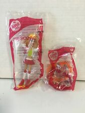 2007 McDonald's My Scene Barbie Kennedy - NIP Roller Skates Wear Share Bracelet