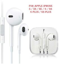 Apple iphone Earphones Headphones Ear-pods for iPhone 5 6 6sPlus iPad Hands-free