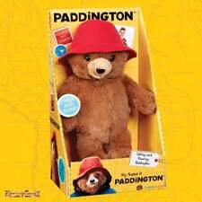 Paddington Movie Collection - 21cm Talking My Name is Paddington Plush Soft Toy