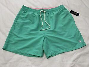 Polo Ralph Lauren Men's Swim Trunks Briefs Shorts Green Size XXL NEW