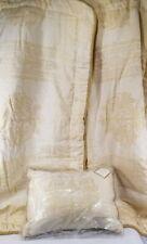 POSH REVMAN King Pillow Case Cream Rope Damask Golden Mosaic Maximus Golden New
