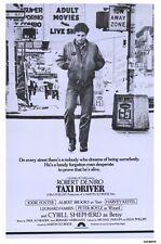 Taxi Driver Movie Poster 11x17 B Robert De Niro Jodie Foster Harvey Keitel