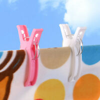 Plastic Large Clothes Pins Laundry Hangers Pegs Strong Clamps Photo Bag Clips