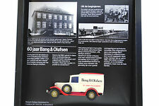 MATCHBOX D'ANTAN No:Y-22 1930 FORD MODEL A VAN in B&O BANG & OLUFSEN LOGO