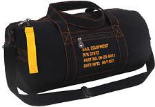Cotton Canvas Travel Equipment Carry Duffle Bag Flight Adjustable