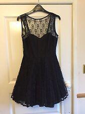 Polyester Mini Sleeveless Little Black Dresses for Women