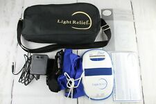 Light Relief Infrared Pain Relief Therapy Device LR150 With Adapter and Manuals