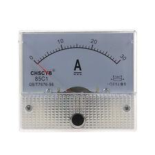 85C1 analogico pannello corrente Meter DC 30A AMP amperometro X4Z9