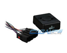 CAR STEREO RADIO REPLACEMENT INTERFACE WITH CHIME BOX AND WIRING HARNESS PLUG