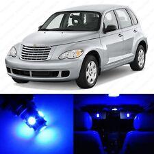 8 x Blue LED Interior Light Package For 2001 - 2010 Chrysler PT Cruiser + TOOL
